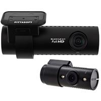 DR650S-IR 2-Channel Dash Camera (Front + Rear) with IR LE...