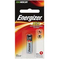 Energizer A27 12V Zero-Mercury Alkaline Battery for Keyle...