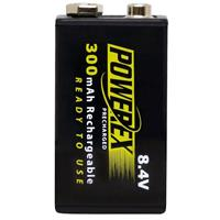 Low Self-Discharge Powerex Precharged 8.4V 300mAh Recharg...