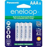 "Panasonic Eneloop ""AAA"" 800 mAh Rechargeable Ni-MH Batter..."