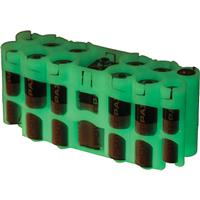 Powerpax Storacell A9 Pack Battery Caddy, Holds 8x AA, 4x...