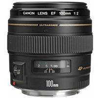 Canon EF 100mm f/2 USM Medium Telephoto AutoFocus Lens - USA