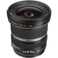 Canon EF-S 10-22mm f/3.5-4.5 USM Zoom Lens - U.S.A. Warranty