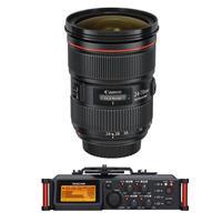 Canon EF 24-70mm f/2.8L II USM Zoom Lens - U.S.A. Warrant...