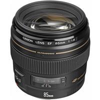 Canon EF 85mm f/1.8 USM AutoFocus Telephoto Lens - USA Wa...