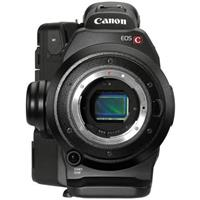 Canon EOS C300 Cinema EOS Camcorder Body With Dual Pixel CMOS AF Feature Upgrade - EF Lens Mount - Body Only  Missing Monitor Unit And Handle Unit  (2244 Hours)
