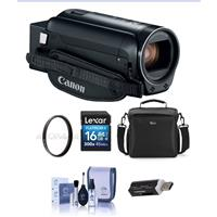 Canon VIXIA HF R80 3.28MP Full HD Camcorder, - Bundle Wit...