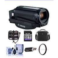 Canon VIXIA HF R82 3.28MP Full HD Camcorder, - Bundle Wit...