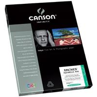 CANSON Aquarelle Rag, Textured Pure White, Watercolor Mat...