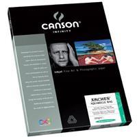 CANSON Aquarelle Rag, Textured Pure White, Watercolor Mat...