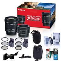 Canon Portrait & Travel 2 Lens Kit - EF 50mm f/1.8 STM Le...
