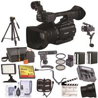 Canon XF205 High Definition Pro 1080p Camcorder, - Bundle...