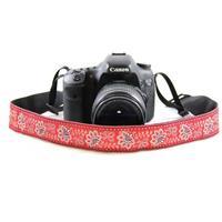 "Capturing Couture 1.5"" DSLR Camera Strap, Bandana Red"