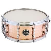 """Hand Hammered 14x6"""" Copper Snare Drum"""