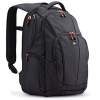 """Case Logic 15.6"""" Laptop + Tablet Backpack, Black"""