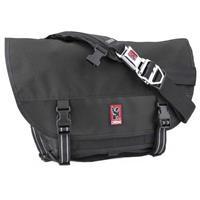 Chrome Mini Metro Messenger Bag, Black/Black