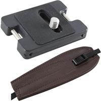 Arca XT Adapter with Chocolate Brown ProStrap, Fits All S...