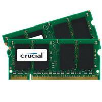 Crucial 4GB (2x 2GB) 667MHz 200-Pin DDR2 SO-DIMM (PC2-530...