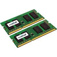 Crucial 8GB (2x4GB) 204-Pin SODIMM DDR3 1600 Mt/s (PC3-12...