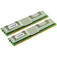 Crucial 8GB (2x4GB) 240-pin FB-DIMM DDR2 667MHz (PC2-5300...