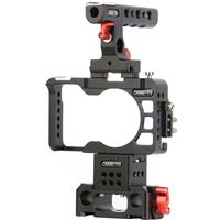 Rig with Handle, Cage and Baseplate for Sony a6300 Camera