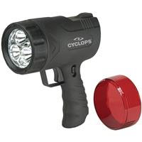 Cyclops Sirius 300 Lumens Handheld Rechargeable Spotlight...