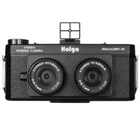 Lomography Holga 120PC-3D Stereo Pinhole Camera with Standard Tripod Mount