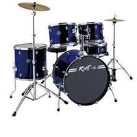"""Dixon Riot 522 5-Piece Drum Set, Includes 9x12""""/10x13"""" To..."""