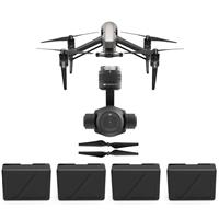Inspire 2.0 Quadcopter - Bundle With DJI Zenmuse X4S 20MP...