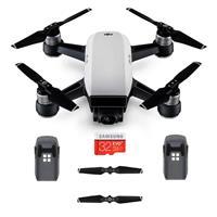 Spark Mini Drone - Alpine White - Bundle With Spare Intel...