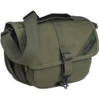 F-10 JD Medium Shoulder Bag, Olive - Canvas
