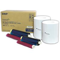 "DNP 4x6"" Dye Sub Media for DS620A Printer, 400 Prints Per..."