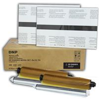 "DNP 8x10"" Duplex Ribbon Media Kit for DS80DX Printer, 65 ..."