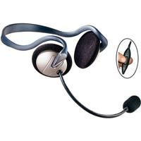 EARTEC Monarch Midweight Dual-Ear Inline PTT Headset with...