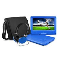 "EMATIC EPD909 9"" Portable DVD Player with Matching Headph..."