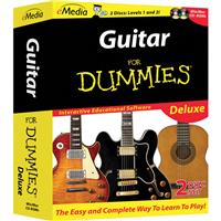 E Media Guitar For Dummies Deluxe Software with Beginner ...