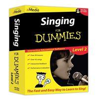 E Media Singing For Dummies Level 2 Software for Mac, Ele...