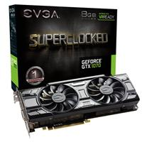 EVGA GeForce GTX 1070 8GB Black Edition SC 1594MHz Gaming...
