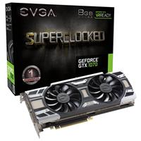 EVGA GeForce GTX 1070 SC 8GB Gaming Graphics Card with Ba...
