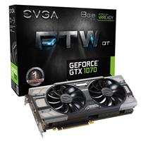 EVGA GeForce GTX 1070 8GB FTW +DT 1506MHz Gaming Graphics...