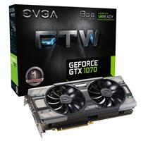 EVGA GeForce GTX 1070 8GB FTW 1607MHz Gaming Graphics Card