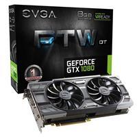 EVGA GeForce GTX 1080 8GB FTW +DT 1607MHz Gaming Graphics...
