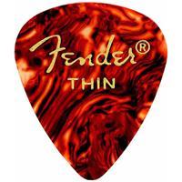 Fender 351 Shape Classic Pick for Guitars, Thin, 12 Pack,...