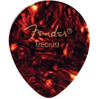 Fender 347 Shape Classic Celluloid Guitar Picks, Heavy, 1...