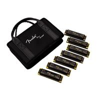 Fender Blues DeVille Harmonicas Seven-Key Sampler Set wit...