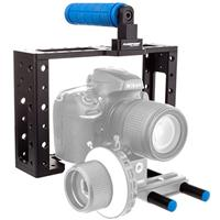 Flashpoint HD-SLR Camera Cage with Connectors Rods and Gr...