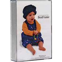 Microsem Original Clear Acrylic Box Picture Frame for a 4...