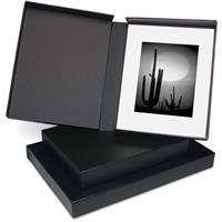 Print File Clamshell Portfolio Box with Black Lining, 17....