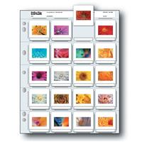 """Print File 35mm Slide Pages Holds Twenty 2x2"""" Mounted Tra..."""