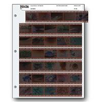 Print File 35mm Size Negative Pages Holds Seven Strips of...